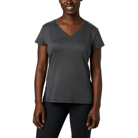 Columbia Bryce Camiseta Manga Corta Mujer, black heather